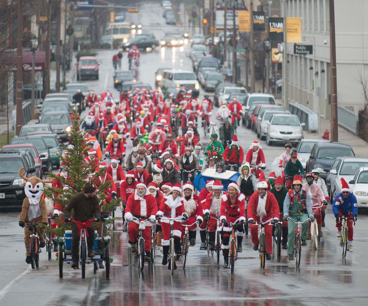Merry Christmas Cyclists!